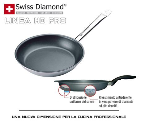 Padella professionale Ø 24 cm Swiss Diamond Art.SD 99524